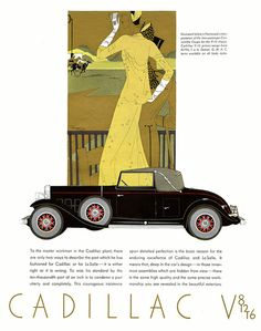 A Day At The Races  by paul.malon, via Flickr, ad for Cadillac 1931