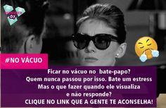 CLIQUE PARA LER: http://www.diamondteen.com/2015/10/papo-cabeca-visualizou-e-nao-respondeu.html