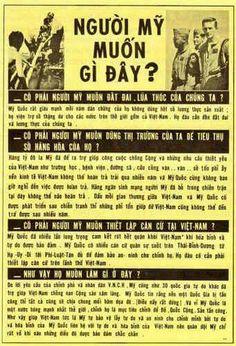 From South Vietnam: VNCH pamphlet explaining US presence. South Vietnam, Vietnam War, Cool Wallpaper, Art Inspo, Knowledge, History, Flyers, Guns, October