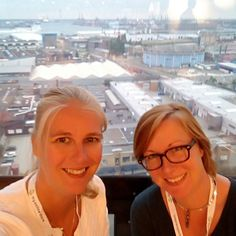 Met @hyperventilatiecoach bij #mijnwebwinkel evenement in #Rotterdam