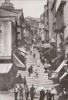 ✿ ❤ Bir zamanlar İSTANBUL, Steps down to Karakoy / Karaköy'e inen merdivenler