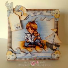 Sailor Child In Vintage Style!