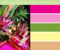 Summer Color Palette Ideas for a Fabulous Wedding Party