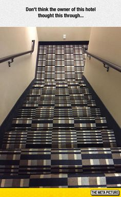 I'm Falling Just Looking At These Stairs