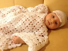 Baby Blanket /  Boy or Girl / Crocheted by LaraineRoseHandiWorx