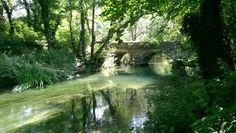 Aqueduct on Chernaya river