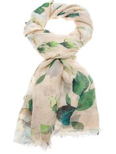 Floral print scarf from DOLCE & GABBANA