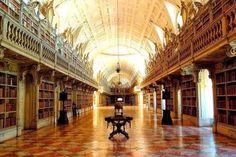 Tudo de bom por cá: Biblioteca do Palácio Nacional de Mafra