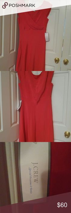 J Crew special ocassions & parties dress Pink 100% silk and polyester size 12 brand new with tags J. Crew Dresses Midi