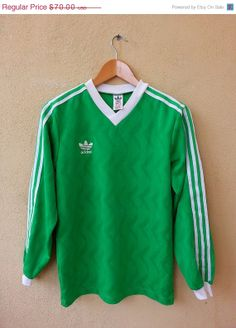 ON SALE Vintage ADIDAS Germany Jersey 80's by Captainstore11, $56.00