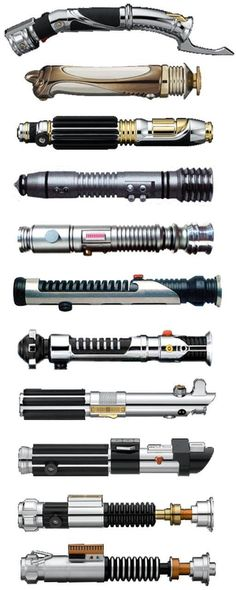 Lightsabers. Linda would actually like one of these if it's a laser pointer