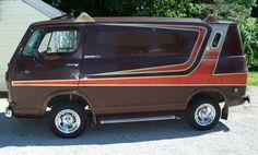Cool Vans Of The 70s 1992 Chevrolet G30 Diesel Custom Van