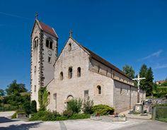 Feldbach : église Saint-Jacques le Majeur. Alsace