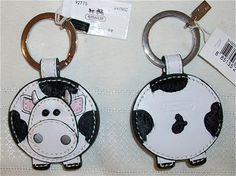 Cow keychain...
