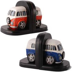 www.presentideas.me.uk - isn't this cute: vw-camper-van-bookends