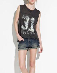 Zara TRF Numbers T-Shirt