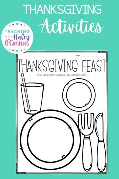 Thanksgiving activities-writing, flipbooks, printables, and more - Teaching with Haley. This packet is full of activities perfect for your little ones to use in the days and weeks leading up to Thanksgiving or during fall/autumn. In this packet, you will find 2 versions (regular lines and handwriting lines). Learn more about the different themed worksheets from all about pilgrims, Native Americans, and turkeys. While learning valuable skills such as word search and story problems. Motivational Quotes For Teachers, Inspirational Posters, Teacher Quotes, Motivating Quotes, Activities For 1st Graders, Teaching Activities, Holiday Activities, Thanksgiving Poems, Thanksgiving Worksheets