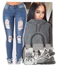 A fashion look from July 2016 featuring zipper hoodies, blue jeans and handbag purse. Browse and shop related looks. Cute Swag Outfits, Dope Outfits, Trendy Outfits, Girl Outfits, Summer Outfits, Fashion Outfits, School Outfits, Urban Fashion, Teen Fashion