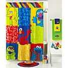 Jay Franco Bath Sesame Street Retro Collection B Is For Time Decorating The As Easy 123 With This Clic