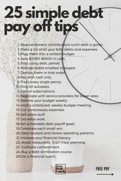 Getting out of debt can be complicated and overwhelming. It doesn't need to be, though. It's kind of like eating an elephant, one bite at a time. But, breaking it down into micro-steps and focusing on one thing at a time will help you to minimize the overwhelm that comes with the territory.