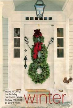 50 Wonderful Christmas Wreath Ideas