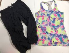 2 Piece Ivivva Lot Tank Crops Size 14  | eBay Lulu Love, White Short Sleeve Tops, Blue Denim, Size 14, White Shorts, Skinny Jeans, Clothes, Ebay, Women