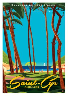 Monsieur Z Tourism Poster, Poster Ads, Vintage Travel Posters, Vintage Postcards, Typography Prints, Holiday Travel, Photos, Pictures, Graphic Illustration
