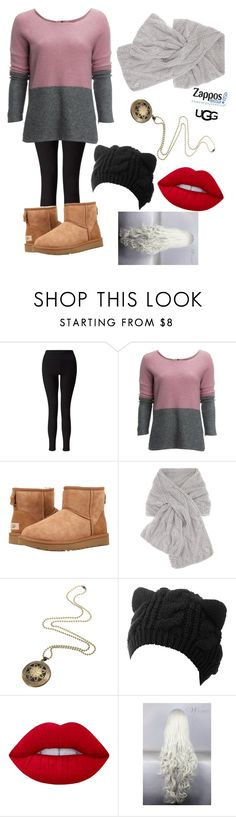 """""""The Icon Perfected: UGG Classic II Contest Entry"""" by dw-fashion-unlimited ❤ liked on Polyvore featuring Miss Selfridge, Carve Designs, UGG Australia, Loro Piana, Lime Crime, ugg and contestentry"""