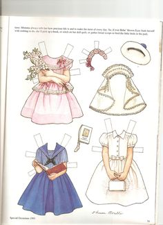 BEBE Brown Eyes 2 artist Theresa Borelli for Martha Pullen Company in Sew Beautiful Magazine