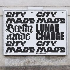 Unused typography for Lunarcharge — Hort Berlin