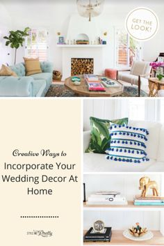 Weaving your Big Day into your home decor isn't as hard as it looks, especially with Shutterfly's unique products! #sponsored #Shutterfly http://www.stylemepretty.com/2017/08/16/shutterfly-home-wedding-decor/