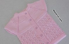 Baby Vest, Baby Cardigan, Baby Knitting Patterns, Crochet For Kids, Crochet Top, Cardigan Design, Knit Vest, Lana, Baby Kids