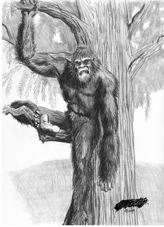 North American Bigfoot: Eyewitness Drawings from the Phillipines