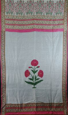 muslin cotton mughal style curtain approx 45years old, needs cleaning. will enhance either summer door entrance or window 190cm x 145cm http://worldbasket.co.uk/product-category/antique-and-vintage-textiles/