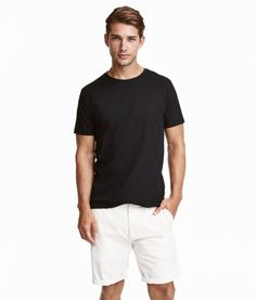 Stretch T-shirt   Product Detail   H&M