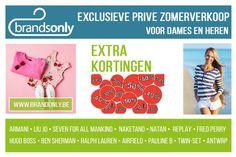 Zomerverkoop Brands Only Antwerpen -- Schelle -- 31/05-18/06
