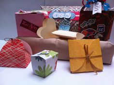 Party Favor Boxes Gift Boxes Gift Wrap All Occasion by DaGbyU, $1.00