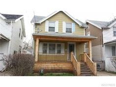 Buffalo Real Estate  - 675 Norfolk Ave, Buffalo, NY, 14215 Nice Cape with living room & formal dining room * Hardwood floors * New paint thruout * Updated kitchen * New porch * Furnace approx. 3 years * Hot water tank 2013 * New porch with wood ceiling * Basement with glass block windows * Fenced yard *