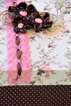 ateliêfotoarte: Caixa decorada com tecido  #Caixa