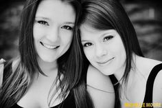 Maddie & Edy Cousin Teen Portraits in Seattle by Photographer Michelle Moore