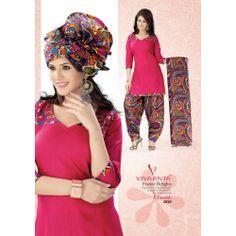 Vaamsi fancy cotton print suits