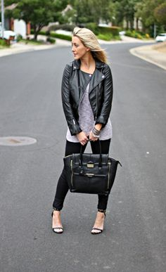 Fashion Blogger @Shannon Willardson styled for fall wearing a Good Work(s) cuff bracelet from Apricot Lane.