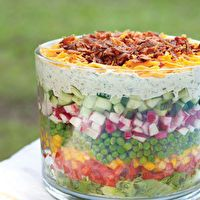 Seven-Layer Salad by Southern Lady