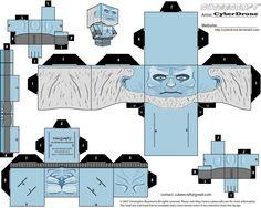 Cubee - White Walker by CyberDrone.deviantart.com on @deviantART