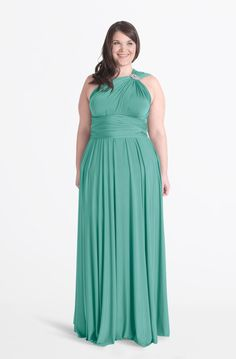 Best-selling convertible dress in maxi length - weddings/special events, bridesmaids, groups. Customizable, flexible up to size 24, plus size equality pricing. Made in Canada.