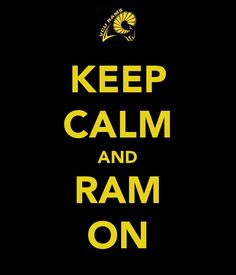 Keep Calm and Ram On #VCU