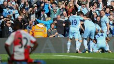 Edin Dzeko comes off the bench to grab an equaliser in the 90th minute. Amazingly, in the most dramatic finishes to a Premier League season, Sergio Aguero keeps his composure to win it for City in injury time and give them their first league title since 1968