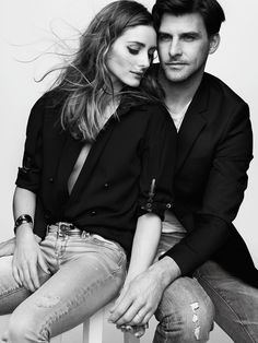 Olivia Palermo & Johannes Huebl for Madame Figaro France May 2015 by Benoit Peverelli