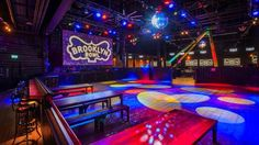 Brooklyn Bowl London----Get your own VIP area for up to 120 guests. Hire our private VIP area with three bowling lanes and its own bar.