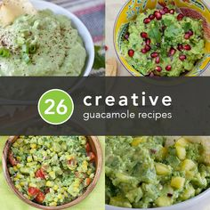 26 Creative Guacamole Recipes